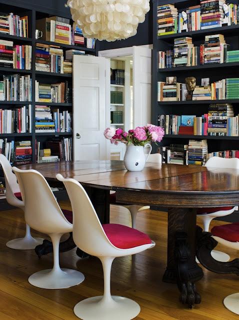 Mi reino por tu loft... : Día del libro: librerias - comedor