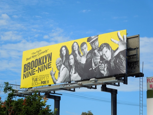 Brooklyn Nine-Nine season 1 billboard