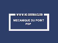 cours mecanique du point materiel 1 pdf smpc s1 , exercice mecanique du point