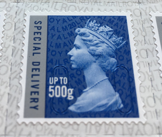 Machin Defnitive Security Stamp Special Delivery 500g M20L reprint 04/02/20