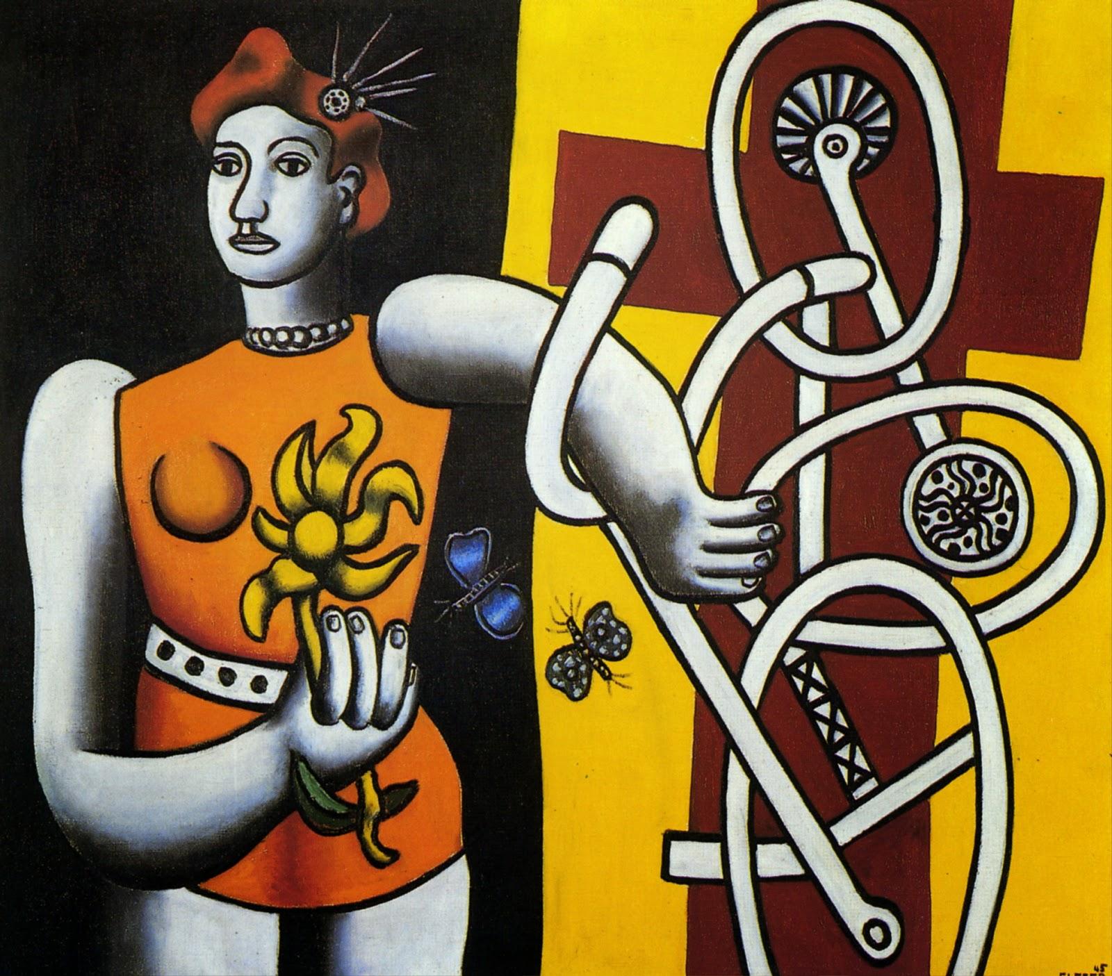 Fernand Léger - The great Julie ,1945.