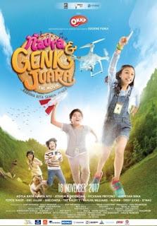Film Naura & Genk Juara 2017 di Bioskop