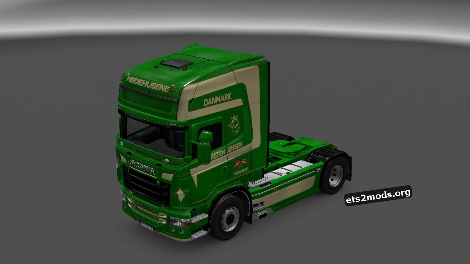 Karsten Jensen Danmark Skin for Scania RJL