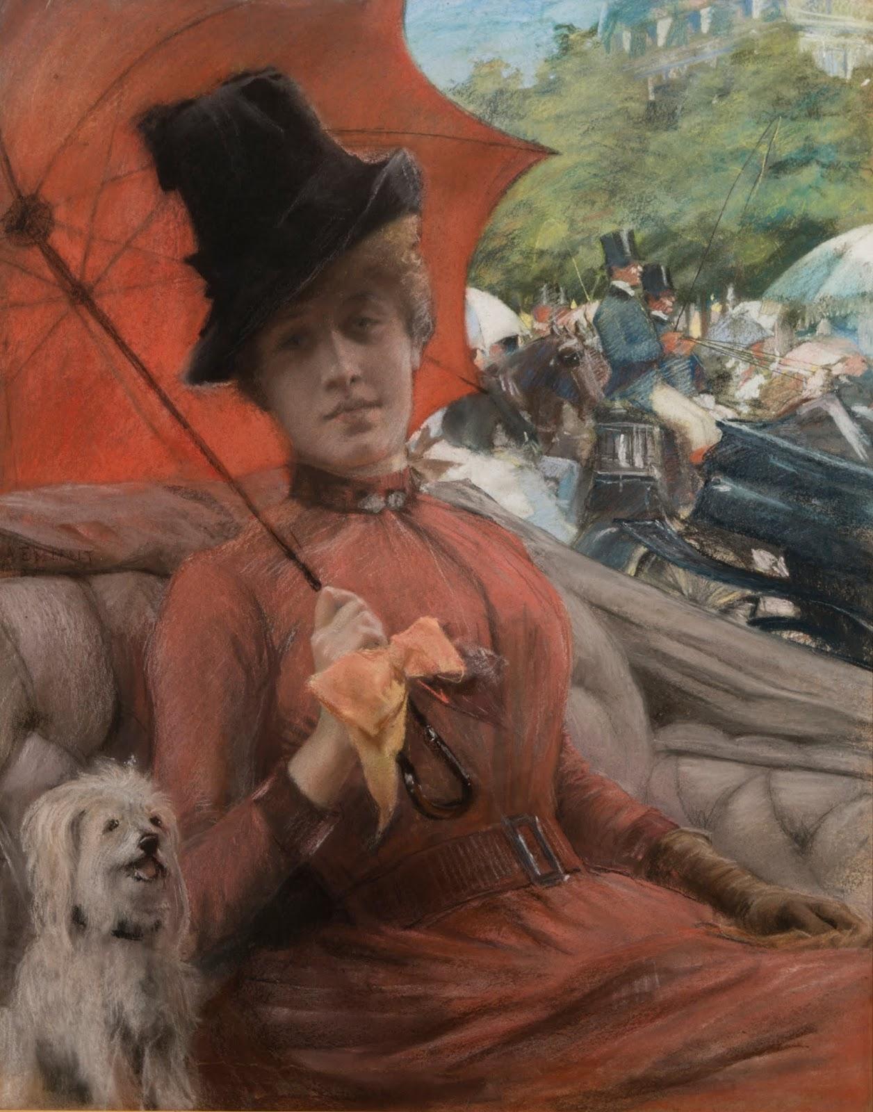 Le Prince Lointain Albert Edelfelt 18541905 Au Bois De Boulogne