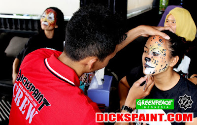 Face Painting Animal Jakarta