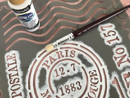 stencil - pintar tecidos