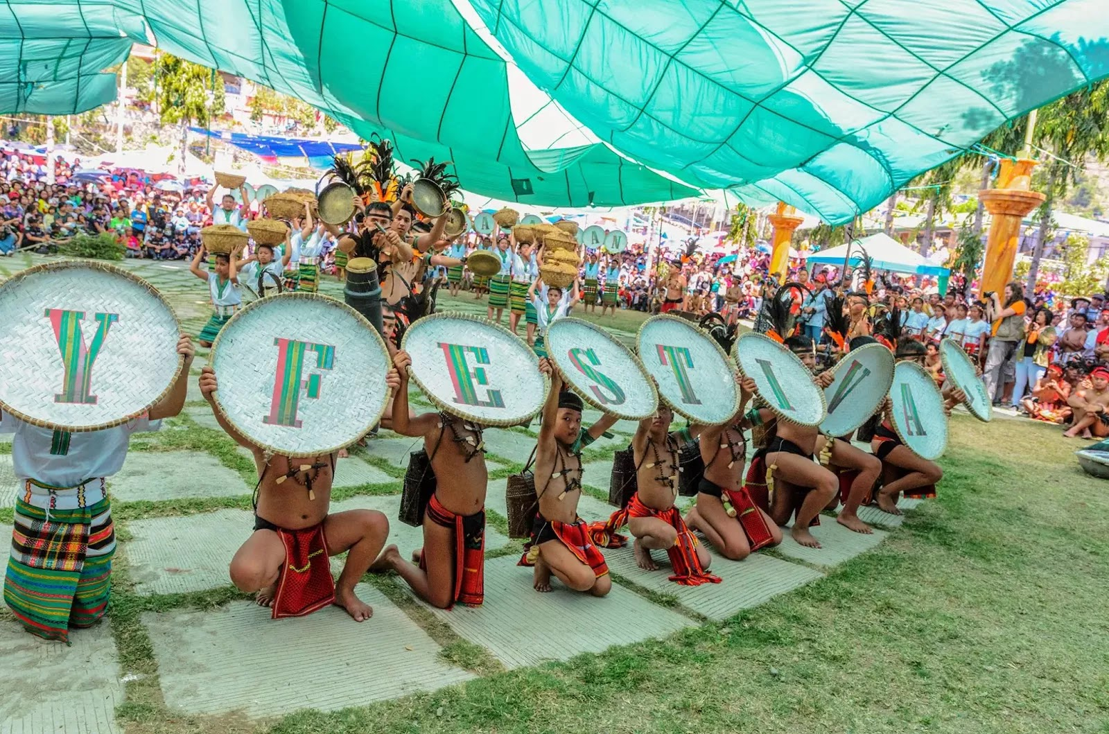 FESTIVAL Signage 13th Lang-Ay Festival Bontoc Mountain Province Cordillera Administrative Region Philippines