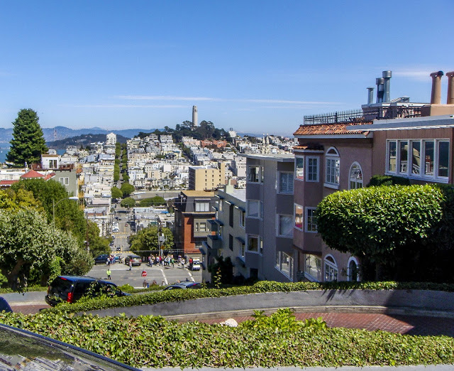 Lombard Street to Coit Tower