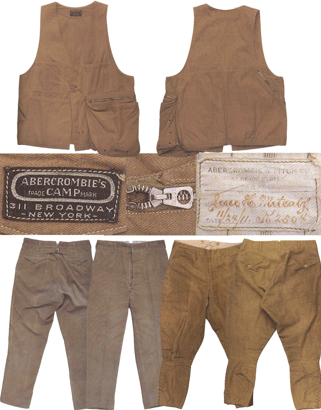 Mens Collections: Abercrombie and Fitch 1900-1911 Antique ...