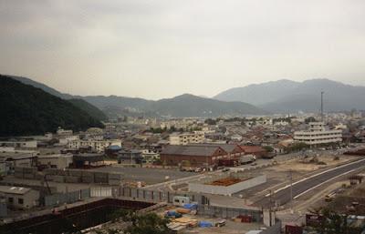福井県敦賀市の古い倉庫群