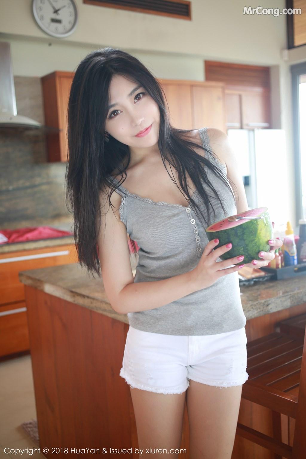 Image HuaYan-Vol.054-Sabrina-Xu-Nuo-MrCong.com-005 in post HuaYan Vol.054: Người mẫu Sabrina (许诺) (31 ảnh)