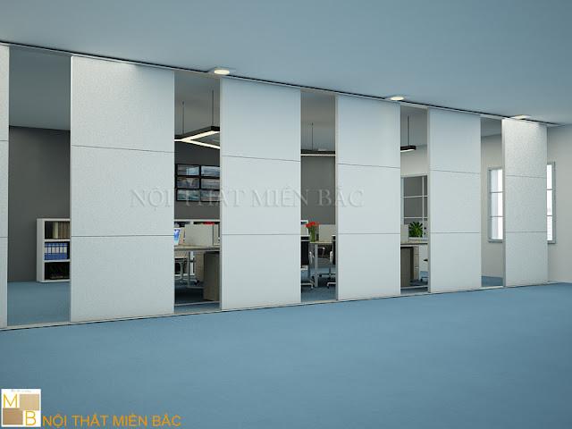 Với thiết kế độc đáo, đa màu sắc thì những dòng vách ngăn di động ngày càng tạo cho không gian làm việc nét đẹp thẩm mỹ