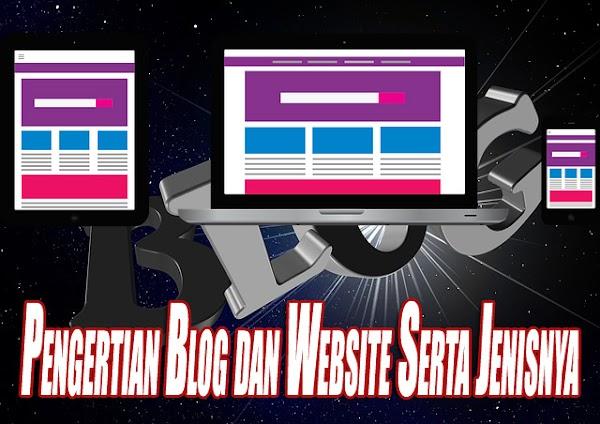 Pengertian Blog Dan Website Serta Jenis-Jenisnya