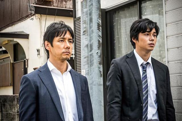 Takakura (Hidetoshi Nishijima) et Nogami (Masahiro Higashide) dans Creepy
