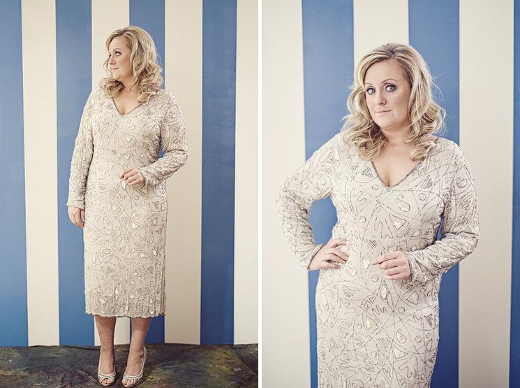 Older Mature Brides Plus Size 2nd Wedding Dress