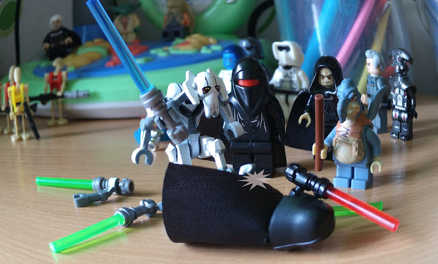 Генерал Гривус против Дарта Вейдера лего фигурки Звездные войны