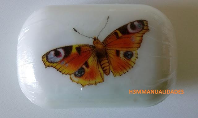 jabón-decorado-mariposa