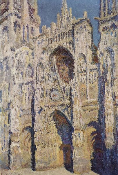 One of Monet's many Rouen Cathedral paintings in his series of 28 portraits that captured Notre Dame in various light and times of the year. Photo: WikiMedia.org.
