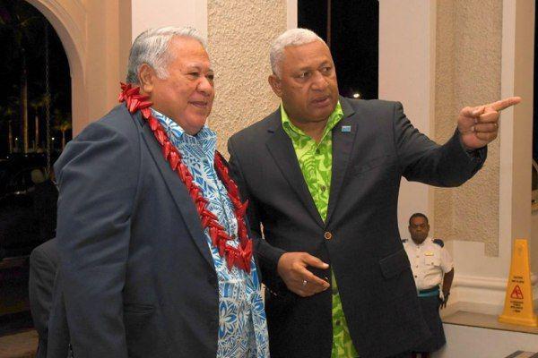 PM Fiji Sambut Delegasi PM Samoa