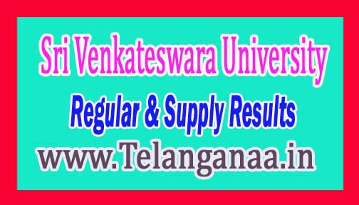 SVU UG 2nd Year 3rd Sem Regular Exam Results Oct / Nov-2016