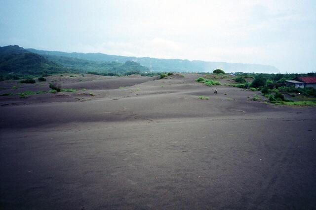 The process of a sandbanks