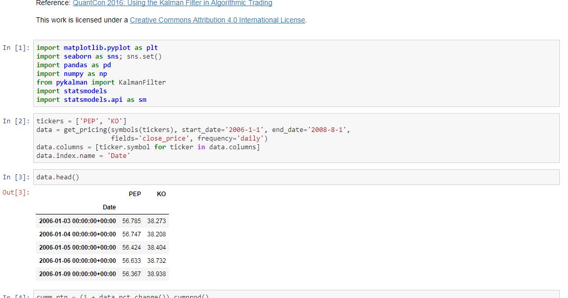 Machine Learning Kalman Filter Machine Learning