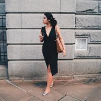 Ana Maddock- The Tuxedo Dress- Stay Sunny Chicago
