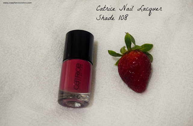 Catrice Cosmetics Ultimate Nail Lacquer Shade 108 The Very Berry Best
