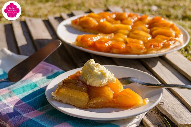 Tarte tatin aux pommes vanillées - recette inspirée de celle de Christophe Michalak - Battle Food #45