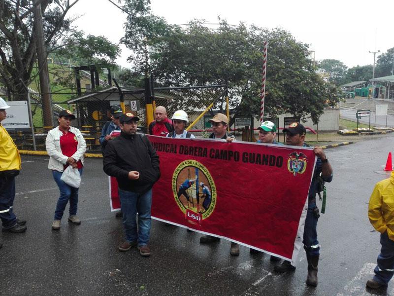 Perenco ya amenazó a los trabajadores con el Esmad