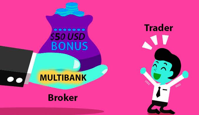 Wow $50 no deposit bonus from MultiBank