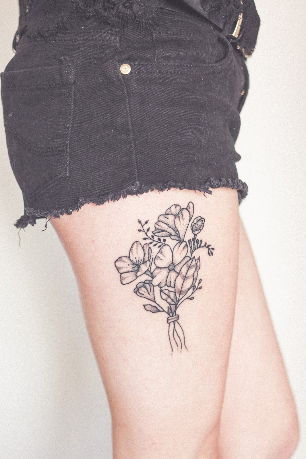 First tattoo experience | www.hannahemilylane.com