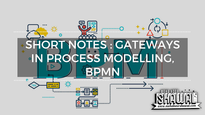 Short Notes : Gateways in Process Modelling, BPMN