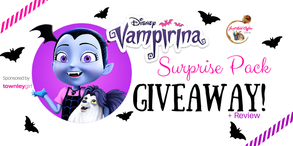 Townleygirl ~ Disney Vampirina Surprise Pack Giveaway U0026 Review!