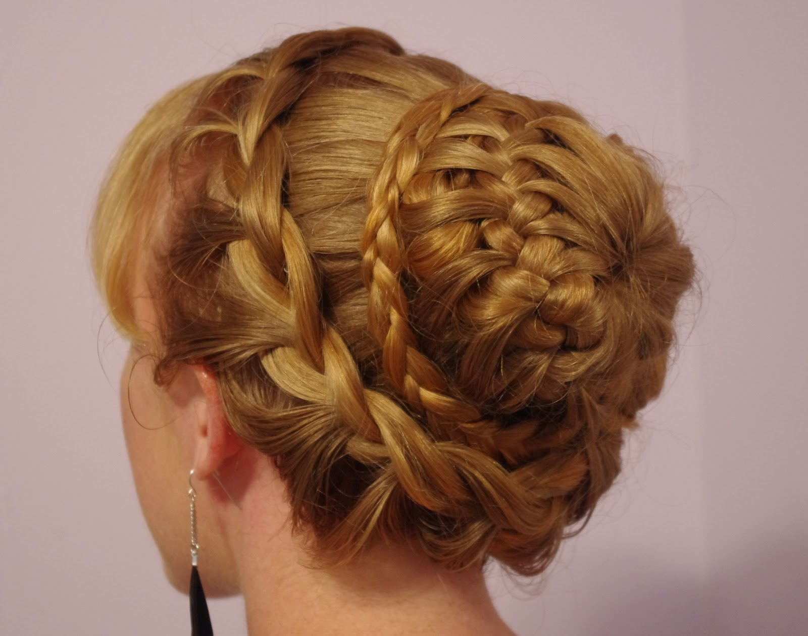 Braids & Hairstyles for Super Long Hair: Fancy Braided Bun