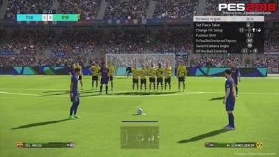 merupakan seri game sepakbola terkenal yang dirilis Konami Trik Cara Tendangan Bebas PES 2018 (Free Kick) Pasti Gol