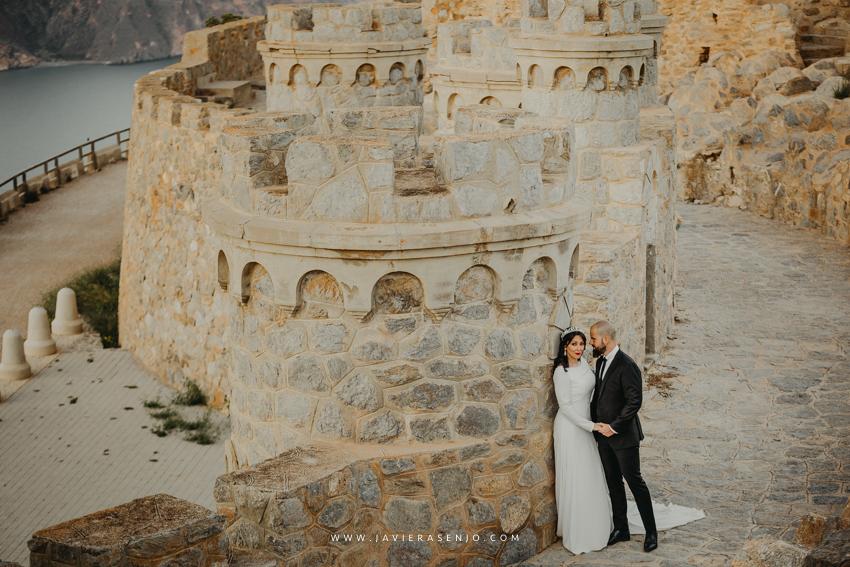 Postboda Romántica en Castillo Cartagena