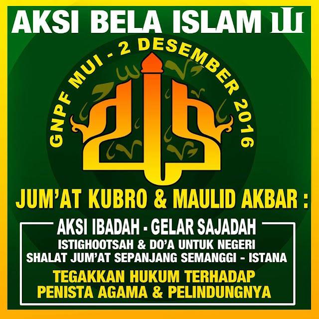 Rapatkan Barisan !! GNPF MUI Nyatakan Aksi Bela Islam Jilid III Tetap di Lakukan...