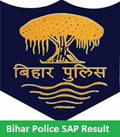 Bihar Police SAP Result