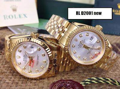 đồng hồ cặp đôi Rolex Đ2001new