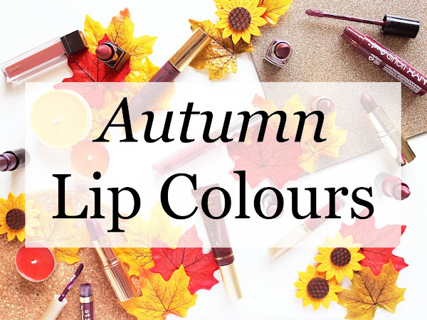 Fall/Autumn Lip Colours