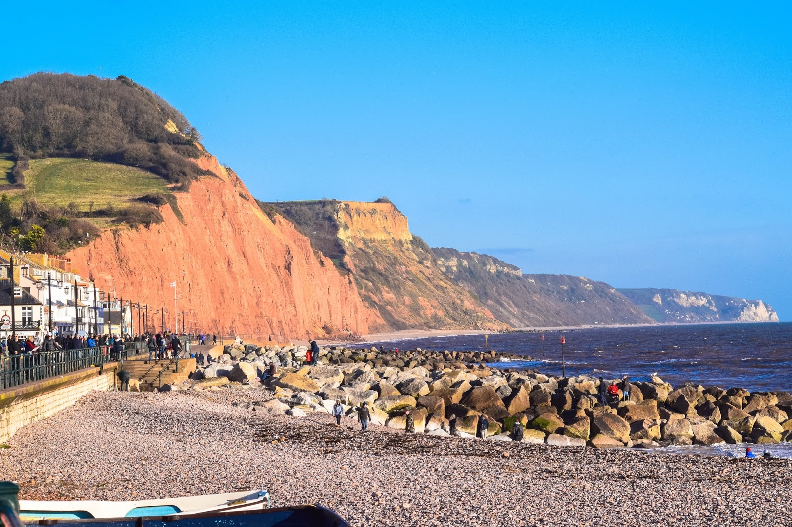 lebellelavie - A Winter's Day at Sidmouth Beach