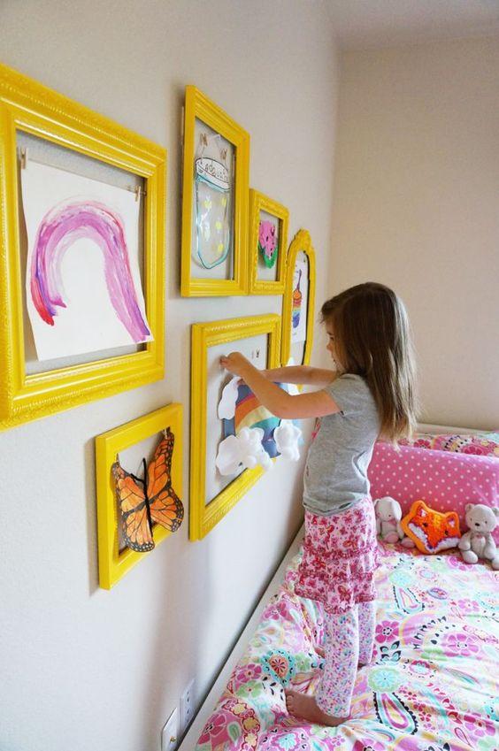 Ideas para decorar las habitaciones de tus hijos.  Fotos extraídas desde Pinterest. Notedlist