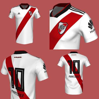 Nueva camiseta, River, River Plate, Titular, 2018