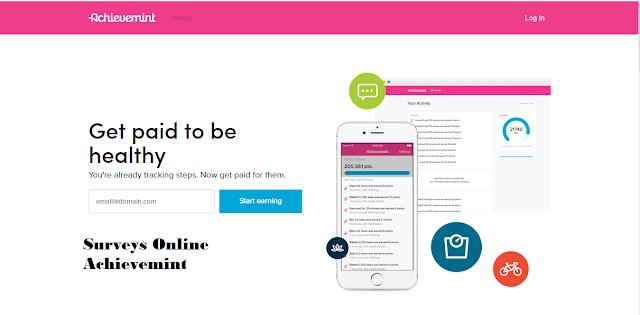 Achievemint : Cara Mendapatkan Uang Cash dari Situs Surveys Online Achievemint !