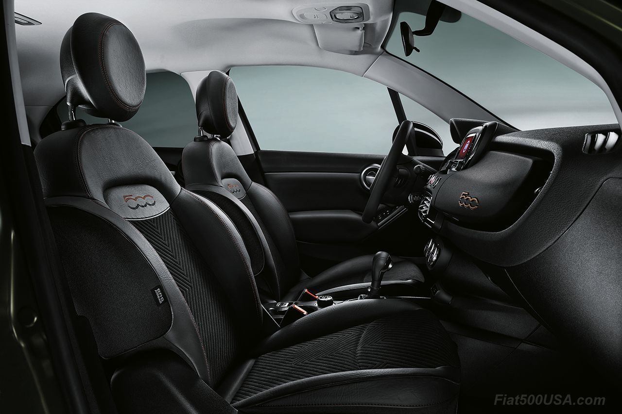 S Design Interieur Fiat 500 Usa