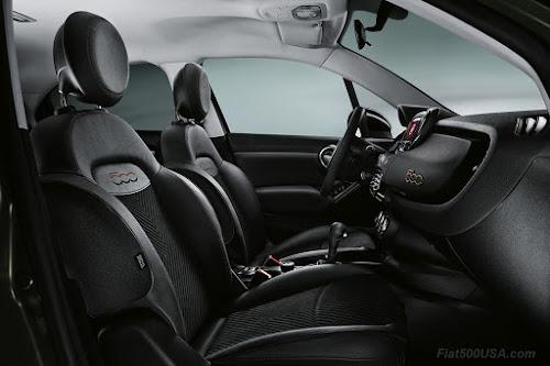 Fiat 500X S-Design Interior