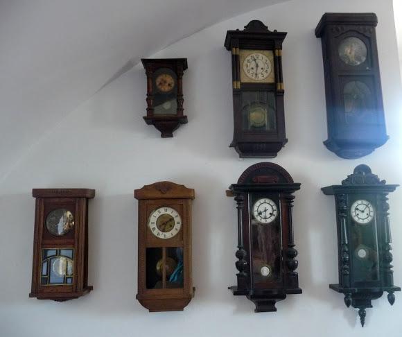 Збараж. Замок. Коллекция часов