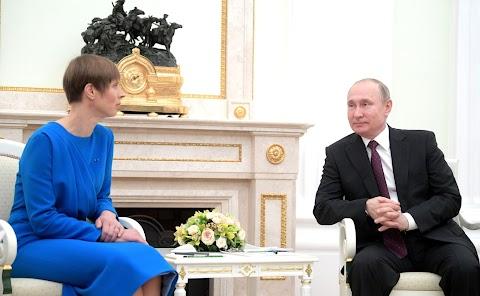 Putyin: nem normális helyzet, hogy nem volt érdemi érintkezés Moszkva és Tallinn között