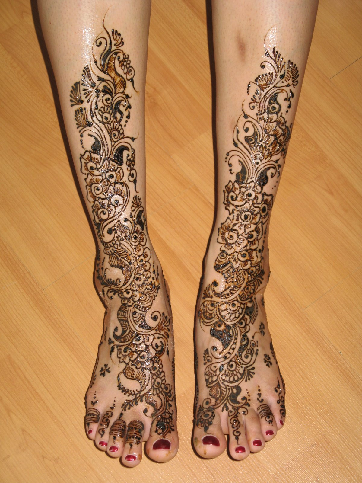 Pakistani Mehandi Designs 2012: Foot Mehndi Designs